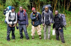 Group Zacharia Mount Kenya