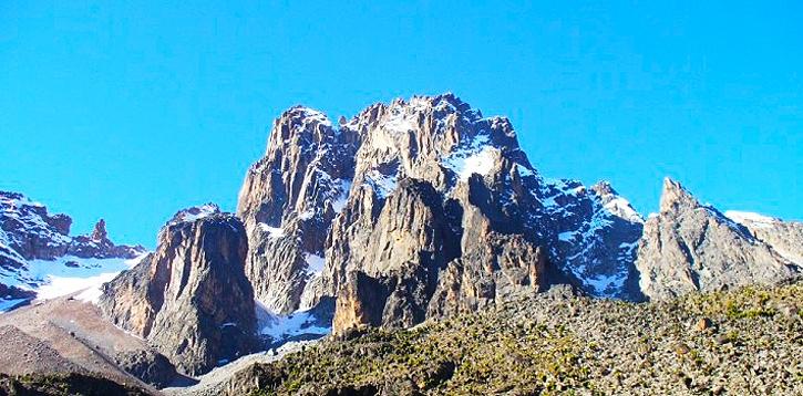 Kenya trekking Mt Kenya trek & climbing