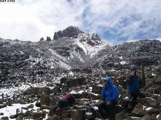 Mt kenya trekking Sirimon - Chogoria traverse
