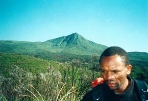 , Mt Kenia climbing Day 2.
