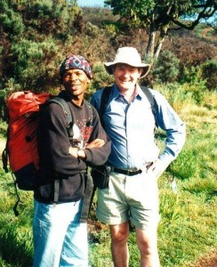 , Mt Kenya climb Day 1