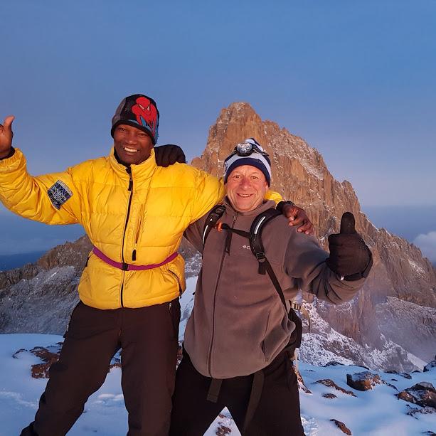 Go To Mount Kenya trekking, Mount Kenya Trekking, climbing tours