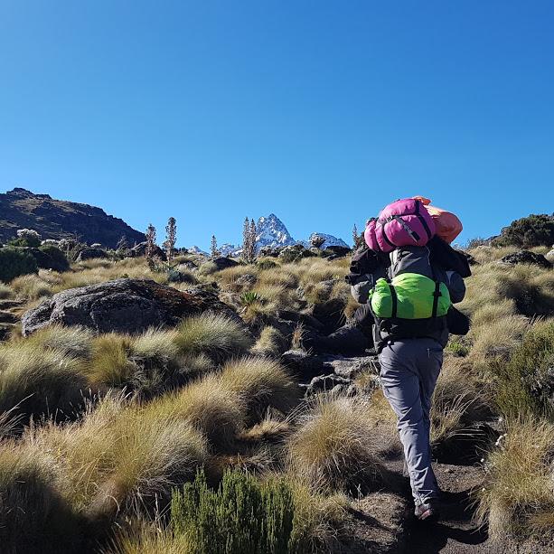 Mount Kenya Climb Chogoria – Sirimon mountain image